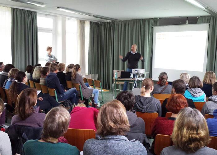 Klasse in Sport Lehrerfortbildung, Start in Hamburg