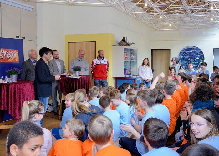 "INITIATIVE ""KLASSE IN SPORT"" Waldschule Alfter kommt in Bewegung"