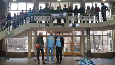Kick-off 2017 in Berlin mit Julia Roos, Markus Porr und Christian Tourney