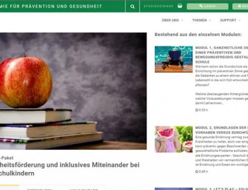 Neu: Lehrer-Schulung in Theorie und Praxis per E-Akademie